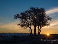 Lever de soleil depuis le Creux-du-Van